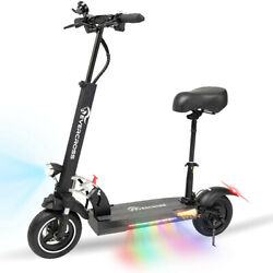 Electric Scooter 28MPH 10AH Folding E Scooter 800w Motor For Adults Black $699.00
