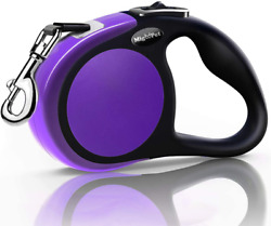 Heavy Duty Retractable Dog Leash 16ft Strong And Durable Walking Leash Purple $20.90