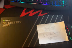 NVIDIA GEFORCE RTX 3080 FE FOUNDERS EDITION GPU *2 Day Shipping* *Brand New* $2200.00