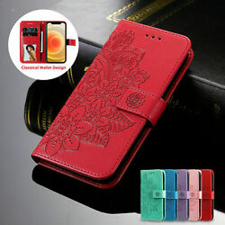 Magnetic Leather Wallet Case For iPhone 12 11 Pro Max 8 7 6Plus XS XR Flip Cover $7.31