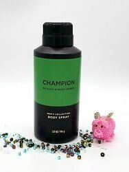 Bath and Body Works Men#x27;s Collection CHAMPION FOR MEN Body Spray 3.7 oz NEW $13.95