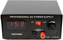 Tekpower HY1502 DC Power Supply with Control Pedal for Tattoo Gaming and Lab $29.00