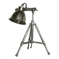 Authentic Models Writer#x27;s Desk Lamp Silver Polished SL049 $214.99