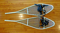 NEW Magline Snowshoes GI Military Army Magnesium White w Bindings Made in USA $99.00