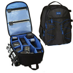 Large Camera Backpack Bag for Canon Nikon Sony DSLR amp; Mirrorless by ACUVAR $29.99