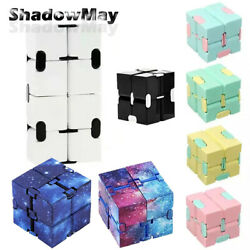 Kids Sensory Infinity Cube Fidget Toy Stress Relief Gift Game For Autism Anxiety $6.95