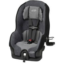 Evenflo Tribute LX Harness Convertible Car Seat Solid Print Gray NEW FREESHIP $69.00