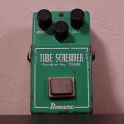 Ibanez TS808 tube screamer with glossy JRC4558D rare made in Japan vintage $2511.00