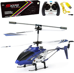 Phantom 3CH 3.5 Channel Mini RC Helicopter With Gyro Blue Remote Control $32.68