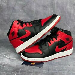 Nike Air Jordan 1 Mid GS quot;Banned 2020quot; 554725 074 GS All Sizes $145.00