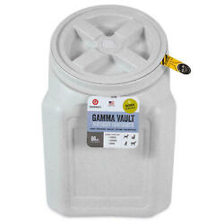 Gamma Vault Stackable 60 lb. Airtight Pet Food Container FREE SHIPPING $31.50