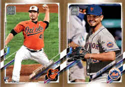 2021 Topps Series 2 Gold Parallel # 2021 w RC You Pick From A List $14.99