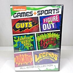 Nickelodeon Games Sports All Star Collection DVD Brand New Authentic Sealed $31.97