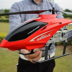 Super Large RC Aircraft Helicopter Toys Recharge Lighting Control Model Outdoor $55.99