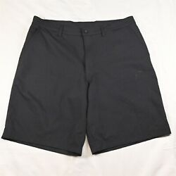 C9 by Champion 36 x 10quot; Black Tech Duo Dry Flat Front Golf Chino Shorts $12.99