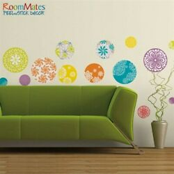 20 pc. Multi Colored Patterned Polka Dots Wall Decal Modern Stickers Room Dß©cor $13.98