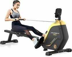 Indoor Quiet Magnetic Rower Rowing Machine Folding Rower 16 Resistance Levels $275.96
