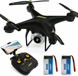 JJRC Drone with Camera for Adults 2020 MINS Longer Flight Time Black $129.54
