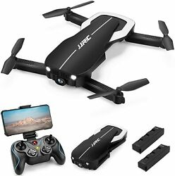 Drones with 1080P HD Camera for Adults JJRC Foldable Drone 2 Black $104.92