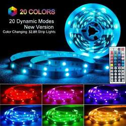 LED RGB Strip Light Background Decorative Lamp with 44 Key Remote Controller $19.99