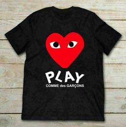 Hot Play Comme Des Garcons T Shirt Vintage Gift For Men Women Funny Tee $17.99