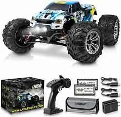 1:10 Scale Large RC Cars 48 kmh Speed Boys Remote Control Car Blue Yellow $243.12
