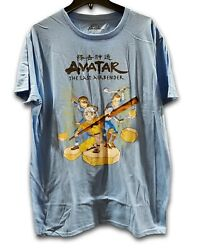 Adult Nickelodeon Avatar The Last Airbender T Shirt Large Blue $7.00