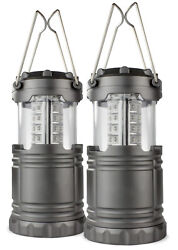 2 Pack Portable Outdoor LED Lantern Camping Lanterns Water Resistant Emergency $27.36