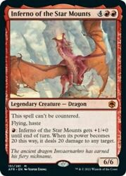 Inferno of the Star Mounts Damp;D Adventures in the Forgotten Realms MTG $10.94