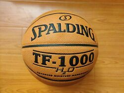 Spalding TF 1000 HzO Indoor NFHS Composite Leather Basketball Size 7 29.5 $29.99