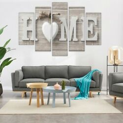 Concise Fashion Wall Paintings Home Letter Printed Photo Art Wedding Decor *USA* $11.95