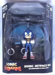 NEW Sonic the Hedgehog Sonic BOOM Jetpack Heli Toy Remote Controlled $30.00