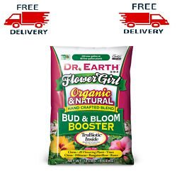 NEW Dr. Earth Organic Plant Food Booster Nutrient Fertilizer For Flower 12 Lbs $28.90