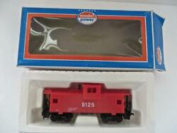 HO Model Power CX1 Red Safety Caboose quot;A Man Alert is Never Hurtquot; NEW 232EA 6 $9.50