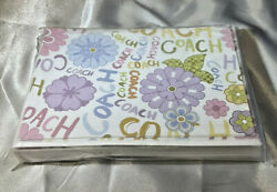 COACH HANDBAG CO STATIONERY PAPER WITH ENVELOPES New Old Stock $28 retail $19.99