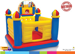 Jump O Lene Castle Inflatable Bouncer for Ages 3 6 $41.99
