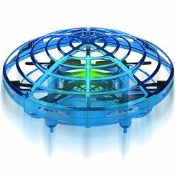 Hand Operated Mini Drones Kids Flying Ball Toy Birthday Gifts for Boys Blue $28.77