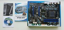 MSI 970A G46 AM3 AMD Motherboard with onboard graphics $119.00