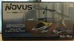 Heli Max Novus CX Helicopter RC 2.4 GHz Nano Sized Ready To Fly Coaxial NEW $102.00