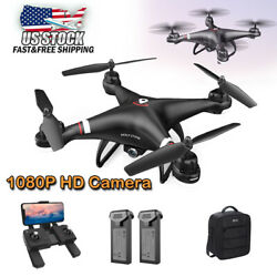 Holy Stone HS110G GPS RC Drones with 1080P Camer Wifi FPV Quadcopter 2 Battery $109.99