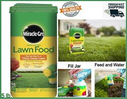 Miracle Gro 5 lbs Lawn Fertilizer Water Soluble Fast Grow Thick Green Grass Food $23.96