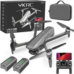 YKRC YK47 Drones with Camera for Adults 4k EIS 3 Axis Gimbal Camera Brushless M $270.00