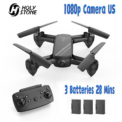 Holy Stone HS650 RC Drones with 1080P HD Camera Quadcopter 3D Flip 3 Batteries $59.99