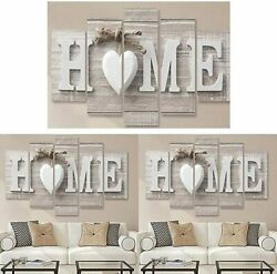 5Pcs Unframed Modern Canvas Wall Art Painting Print Picture Home Room Decor $12.99