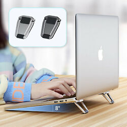 2 x Mini Foldable Laptop Stand Pad PC Tablet Holder Adhesive Invisible Bracket $9.41