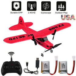 RC Plane FX 803 2.4GHz 2 CH Remote Control Airplane with 6 Axis Gyro RTF Planes $32.98