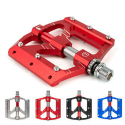 MTB Mountain Road Bike 3 sealed Bearings Pedals flat Platform Bicycle Pedals New $34.62