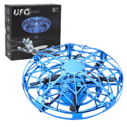 Mini Helicopter For Kids Mini Drone Plane With Hand Sensing Infrared RC $17.98