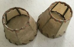 Pair of Southwest Lamp Shades with quot;Whipped Stitchingquot;j $9.00