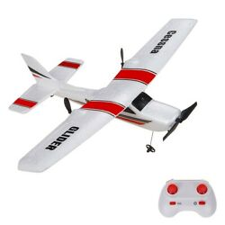 RC Plane RTF Glider Z53 2.4G Airplane With Gyro For Kids Beginner Ready To Fly $29.69